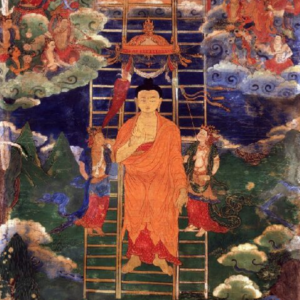 Buddhas_descent_from_Tushita_18th_century_Mongolia-300x300