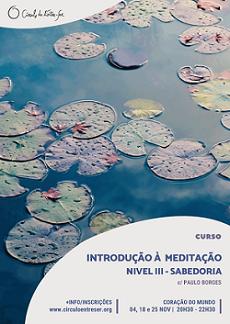 Introdução à meditação III sabedoria peq